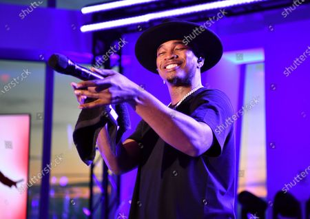 Stock Image of Ne-Yo performs at the Northwell Health 'Side By Side' Memorial Day Concert Honoring Military and Health Care Workers at the World Trade Observatory in New York City.