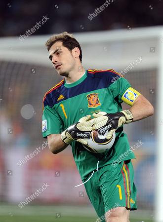 Editorial picture of Spain v Honduras 2010 FIFA World Cup football match, Ellis Park, Johannesburg, South Africa - 21 Jun 2010