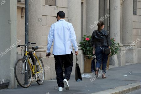 Editorial picture of Marco Borriello out and about, Milan, Italy - 01 Jun 2021