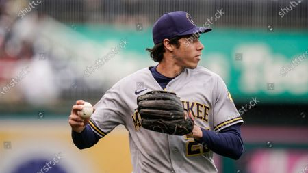 Editorial photo of Brewers Baseball, Washington, United States - 29 May 2021