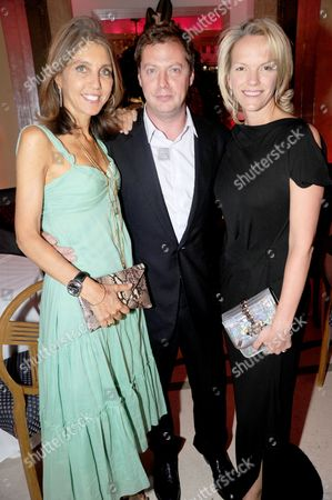 Editorial image of Diane Von Furstenberg Dinner, Claridge's, London, Britain - 23 June 2010