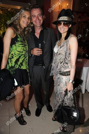 Kim Hersov, Scott Douglas and Daisy Bates