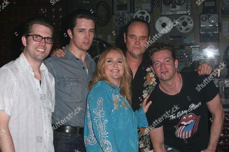 Robert Britton Lyons, Eddie Clendening, Melissa Etheridge, Lance Guest, Levi Kreis