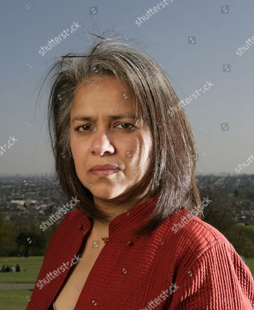 Editorial image of Former Amnesty International employee Gita Sahgal, Alexandra Park, London, Britain - 23 Apr 2010