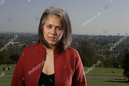 Editorial photo of Former Amnesty International employee Gita Sahgal, Alexandra Park, London, Britain - 23 Apr 2010