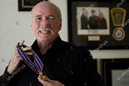 Editorial picture of Boston Marathon Bombing Officer Retirement, Watertown, United States - 01 Jun 2021