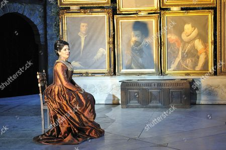 Editorial picture of The Marriage of Figaro at Garsington Opera, Oxfordshire, Britain  - Jun 2010