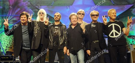 Ringo Starr and His All-Starr  Band - Wally Palmar, Edgar Winter, Ringo Starr, Rick Derringer, Richard Page, Gary Wright and Gregg Bissonette