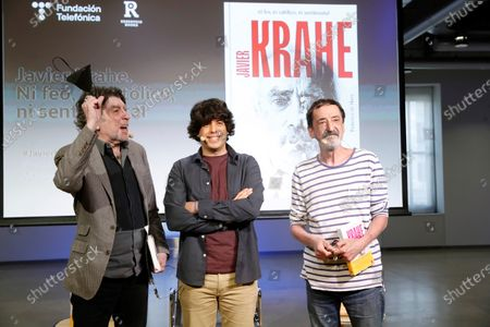 Editorial image of Presentation of biography of late singer Javier Krahe, Madrid, Spain - 01 Jun 2021