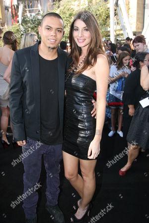Evan Ross and Cora Skinner