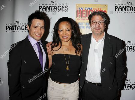 Stock Photo of Yamil Urena, Lauren Velez and James Manos Jr. (L-R)