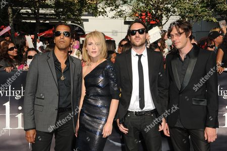 Stock Image of Metric - Josh Winstead, Emily Haines, James Shaw and Joules Scott-Key