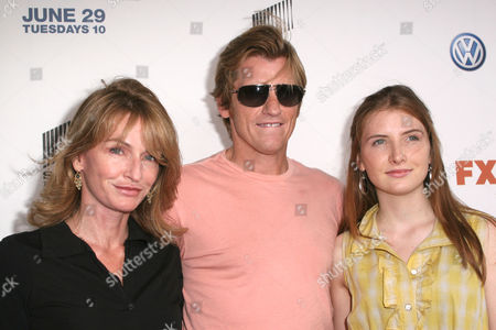 Ann Lembeck Leary, Denis Leary and Devin Leary