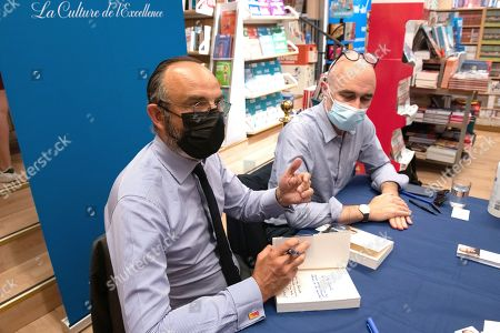 Edouard Philippe and Gilles Boyer