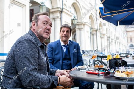 Editorial picture of Kevin Spacey out and about, Turin, Italy - 01 Jun 2021