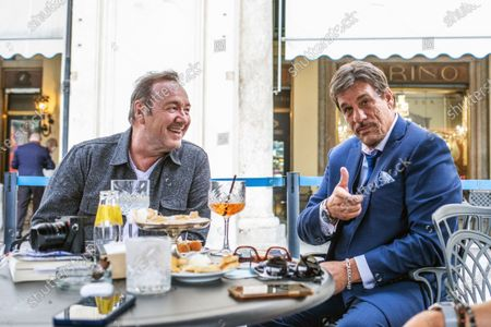 Editorial image of Kevin Spacey out and about, Turin, Italy - 01 Jun 2021