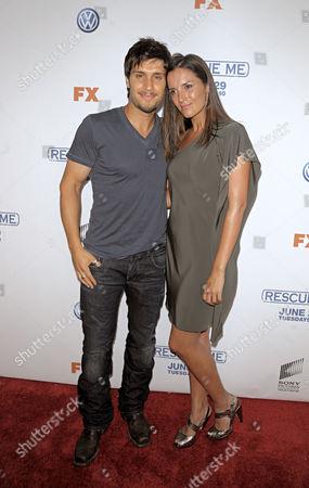 Michael Lombardi and Maria Negron