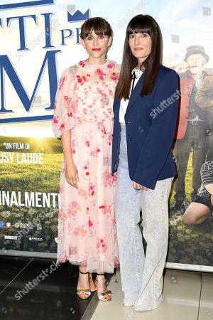 Stock Picture of Susy Laude and Victoria Cabello