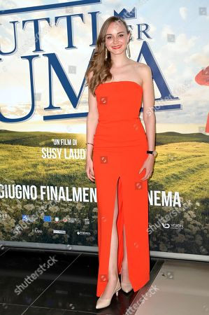 Editorial photo of 'All for Uma' film premiere, Rome, Italy - 01 Jun 2021