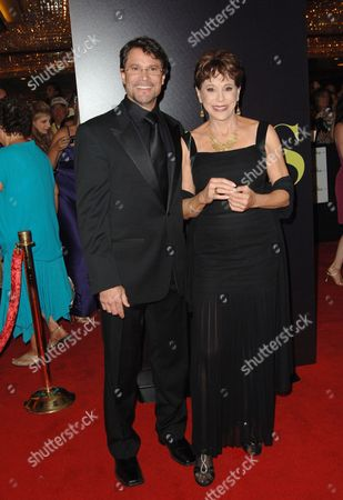 Stock Photo of Peter Reckell and Louise Sorel