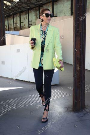 Editorial picture of Afterpay Australian Fashion Week Street style, Sydney, Australia - 02 Jun 2021