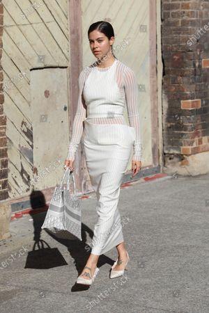 Editorial photo of Afterpay Australian Fashion Week Street style, Sydney, Australia - 02 Jun 2021