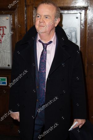 Ian Hislop attends Press Night of The Upstart Crow at the GIELGUD THEATRE, SHAFTESBURY AVE 17 February 2020 in London, England.