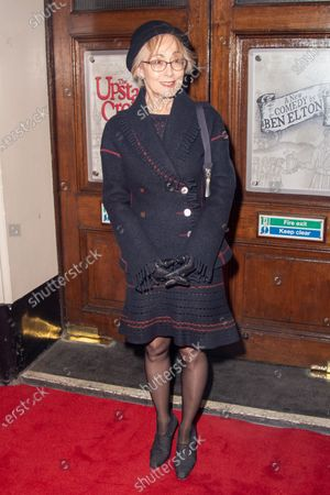 Paula Wilcox attends Press Night of The Upstart Crow at the GIELGUD THEATRE, SHAFTESBURY AVE 17 February 2020 in London, England.