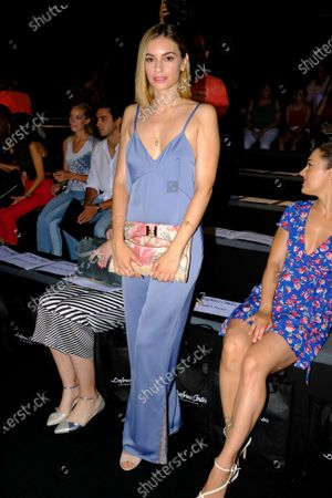 Norma Ruiz attends fashion show during the Mercedes Benz Fashion Week Autumn/Winter 2019-2020 on July 07, 2019 in Madrid, Spain