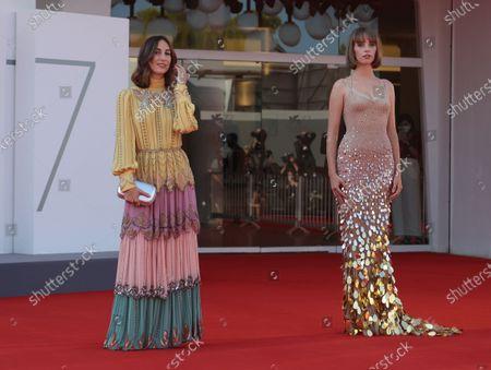 Stock Image of Gia Coppola and Maya Thurman Hawke