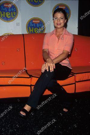 Actress Yasmine Bleeth at NICKELODEON network event.