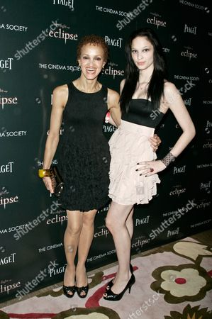 Editorial photo of 'The Twilight Saga: Eclipse' film screening, New York, America - 28 Jun 2010