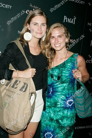 Stock Image of Lauren Bush and Ashley Bush