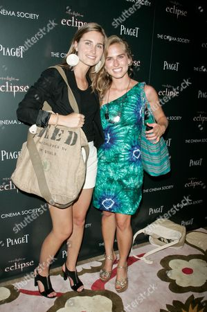 Stock Photo of Lauren Bush and Ashley Bush