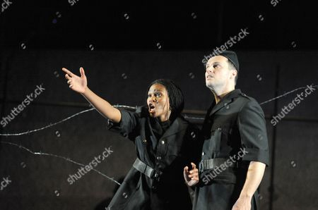 Editorial image of 'Zaide' performed by Classical Opera Company at Sadlers Wells, London, Britain - 24 Jun 2010