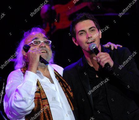 Demis Roussos  with Michael Chatzigiannis