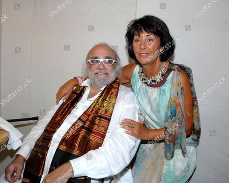 Demis Roussos with wife Marie