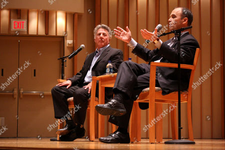 Editorial picture of Scott Turow in Conversation with Dustin Hoffman, Los Angeles, America - 28 Jun 2010