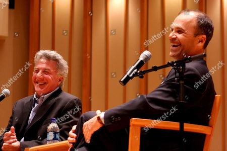 Editorial photo of Scott Turow in Conversation with Dustin Hoffman, Los Angeles, America - 28 Jun 2010