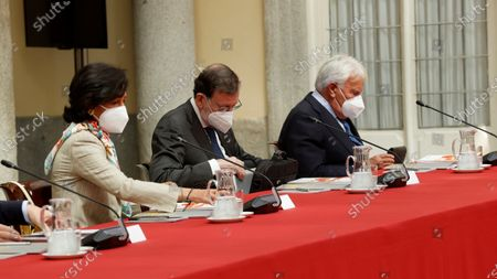 Editorial picture of Felipe VI chairs the annual meeting of the Royal Elcano Institute Patronage, Madrid, Spain - 02 Jun 2021
