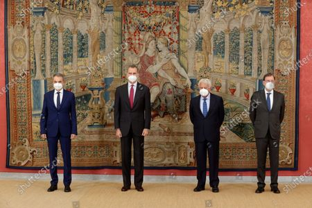 Editorial photo of Felipe VI chairs the annual meeting of the Royal Elcano Institute Patronage, Madrid, Spain - 02 Jun 2021