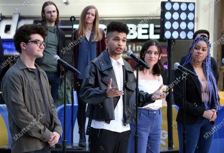 Editorial picture of 'Dear Evan Hansen' cast perform on Good Morning America, New York, USA - 01 Jun 2021