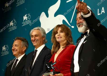Editorial picture of Award Ceremony Winners Photocall, The 76th Venice Film Festival, Italy - 07 Sep 2019
