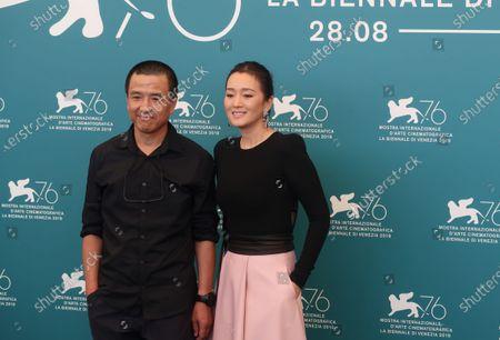 Pascal Greggory and Gong Li
