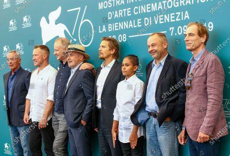 Udo Kier, Aleksey Kravchenko, Stellan Skarsgard, guest, Barry Pepper, Petr Kotlár, director Václav Marhoul and Julian Sands