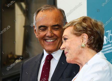 Alberto Barbera and Dame Julie Andrews