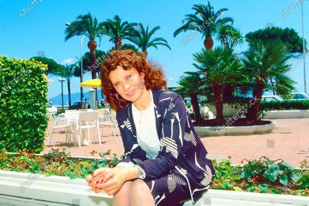 Editorial image of Magali Noel photoshoot, Cannes, France - May 1983