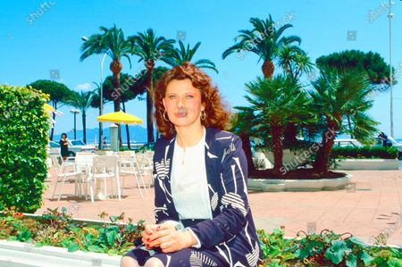 Stock Picture of Magali Noel at Cannes Film Festival