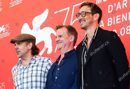 Jason Sudeikis, Nick Hamm and Lee Pace