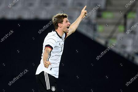 Editorial photo of Germany Denmark Soccer, Innsbruck, Austria - 02 Jun 2021